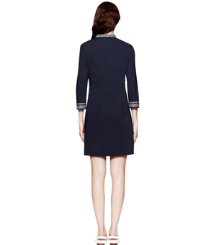 Med Navy Tory Burch Tory Mini Dress