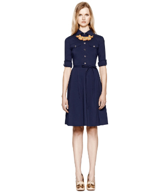 Med Navy Tory Burch Blythe Dress