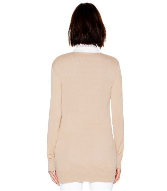 Tory Burch Cotton Boyfriend Simone Cardigan
