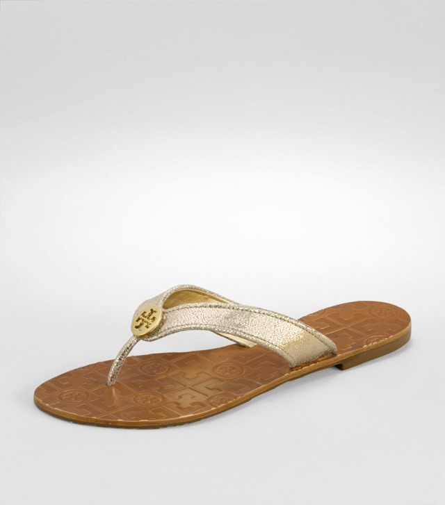 Metallic Lurex Thora Sandal