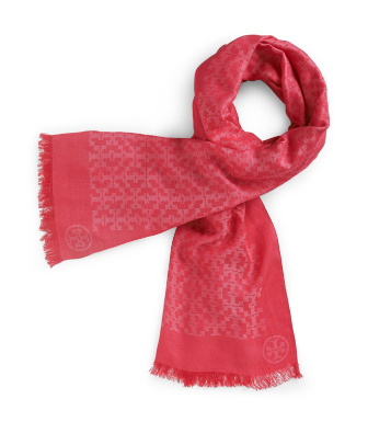 Tory Burch All Over T Scarf