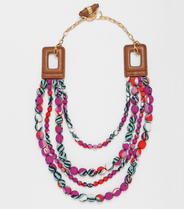 James Multi-Strand Necklace