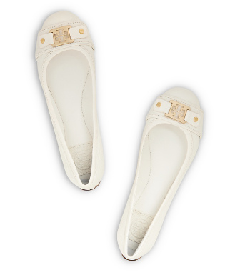 Bleach/bleach Tory Burch Clines Ballet Flat