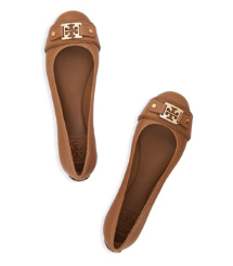 Royal Tan/royal Tan Tory Burch Clines Ballet Flat