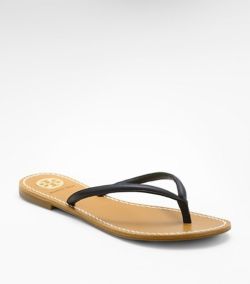 Leather Abitha Thong Sandal
