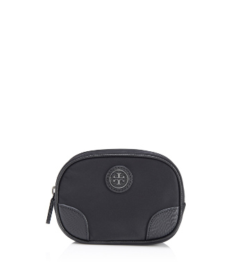 Tory Burch Nylon Robinson Small Cosmetic Case