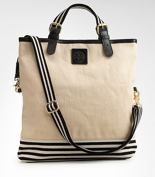Twill Kailey Messenger Tote