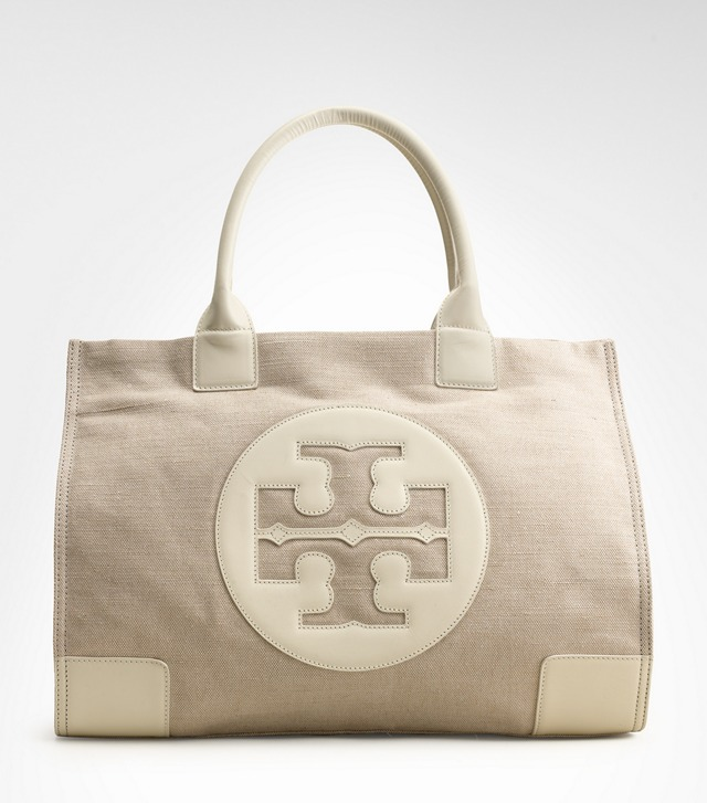 Metallic Canvas Ella Tote