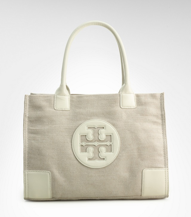 Metallic Canvas Mini Ella Tote