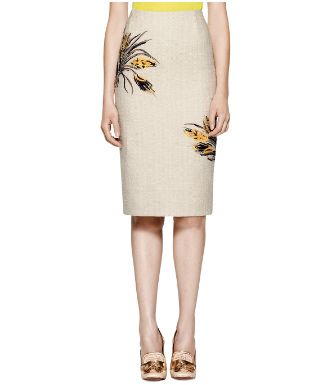 Tory Burch Kimball Skirt