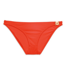 Poppy Red Tory Burch Logo Bottom