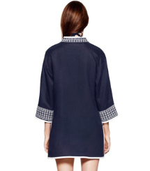 Tory Navy/white Tory Burch Pearl Tunic