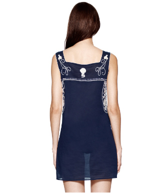 Tory Navy/ivory Tory Burch Amira Dress