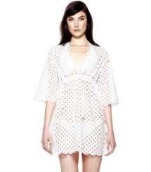 White Tory Burch Luna Tunika