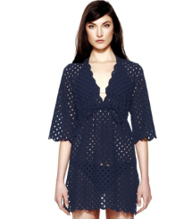 Tory Navy Tory Burch Luna Tunic
