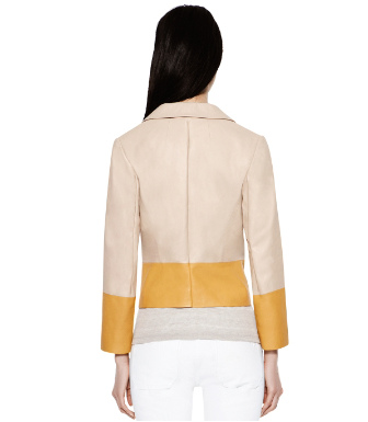 Tory Burch Leather Parlan Jacket