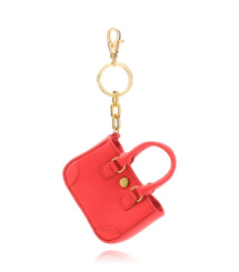 Tory Burch Robinson Small Tote Key Fob