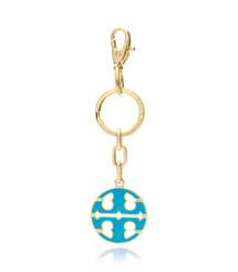 Tory Burch Soft Logo Key Fob