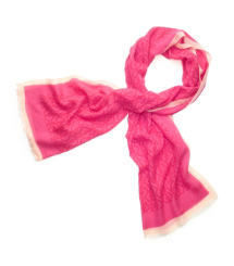 "Allover ""T"" Printed Scarf"