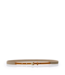 "Tory Burch Split ""t"" Stretch Webbing Belt"