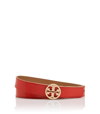 "Tory Burch 1"" Reversible Logo Belt"