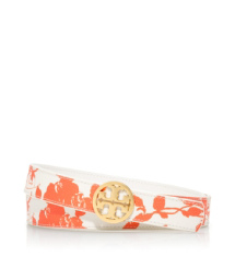Tory Burch Reversible Printed Logo Belt