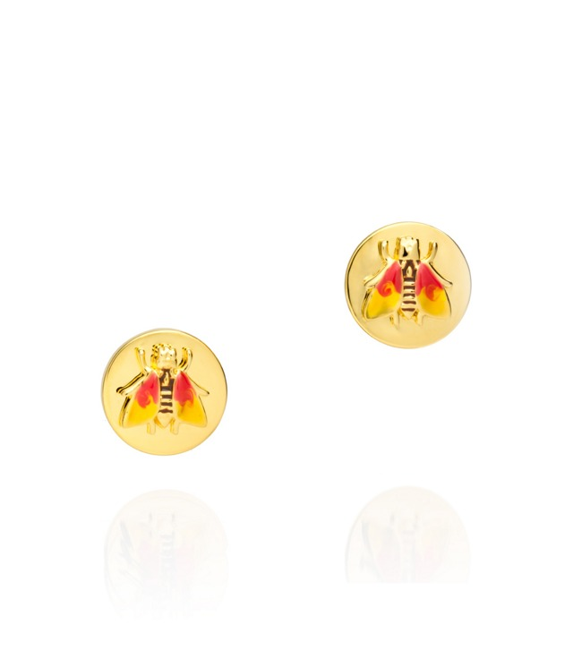BUDDY BEE POST EARRING