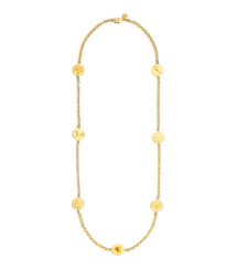Tory Burch Buddy Rosary Necklace