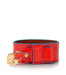 Poppy Red/tahitian Turq Tory Burch Alden Cuff