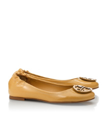 Tory Burch Polished Patent Reva Ballet Flat