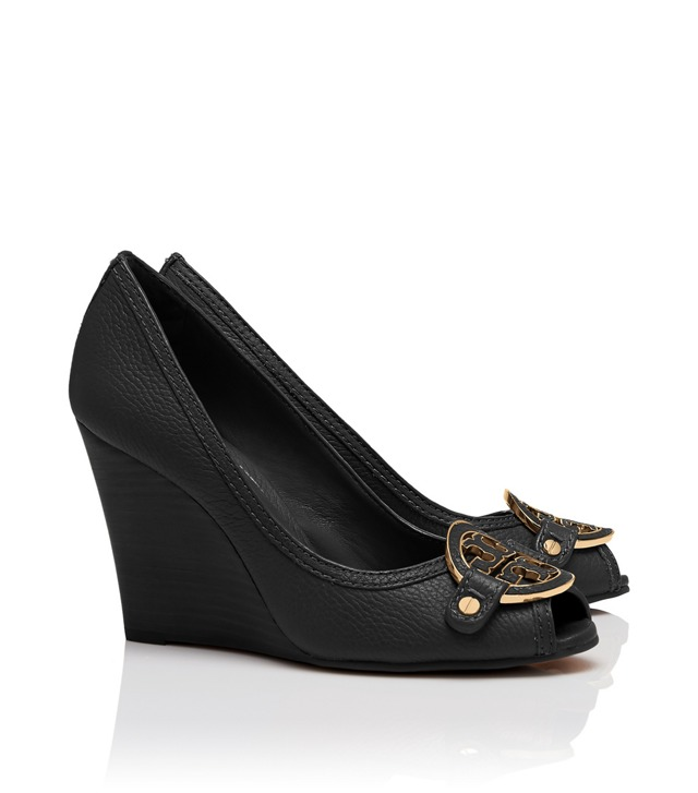Amanda Open Toe Wedge