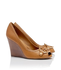 Tory Burch Amanda Open Toe Wedge