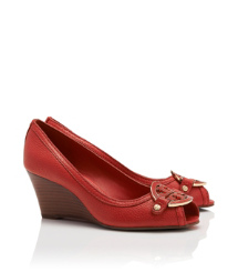 Amanda Open Toe Mid-Wedge