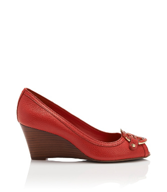 Tory Burch Amanda Open Toe Mid-wedge