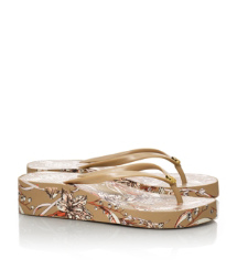 Thandie Wedge Flip Flop