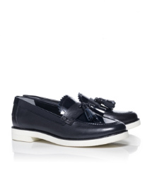 Tory Navy Tory Burch Careen Loafer