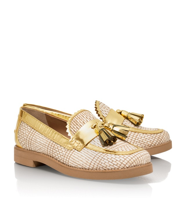 Metallic Careen Loafer