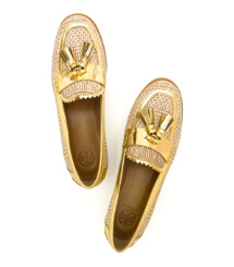 Tory Burch Careen Loafer In Metallic