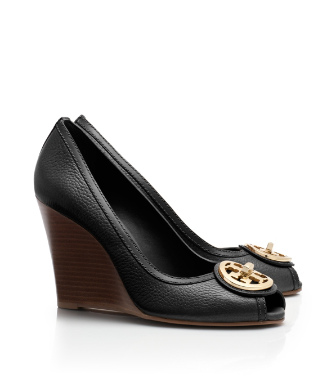 Tory Burch Selma Open Toe Wedge
