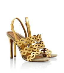 Tory Burch Metallic Ginny Sandal