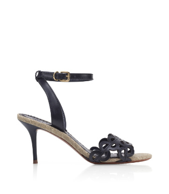 Bright Navy Tory Burch Aileen Sandal