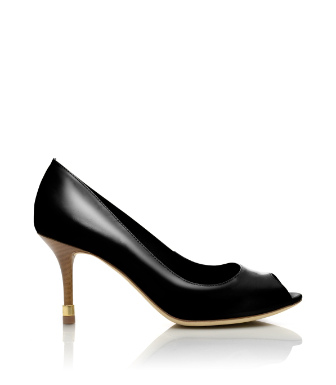Rea Open Toe Pump