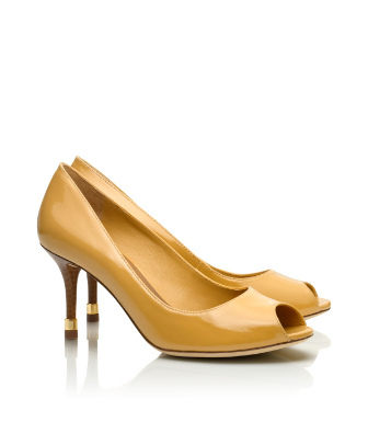 Tory Burch Rea Open Toe Pump