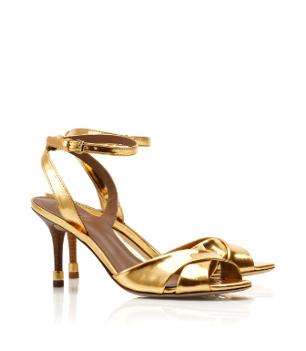 Tory Burch Metallic Tania Sandal