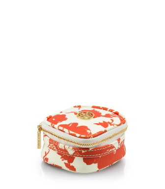 Tory Burch Printed Robinson Tiny Jewelry Case