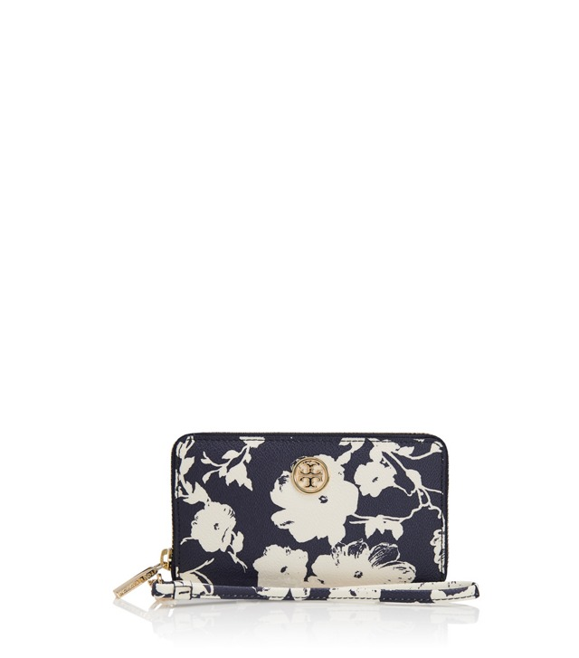 Printed Robinson Smart Phone Wristlet