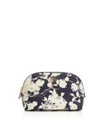 Tory Navy Multi (abbott A) Tory Burch Printed Robinson Makeup Bag