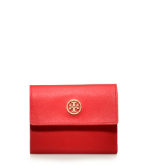 Tory Burch Robinson French Tri-fold Wallet