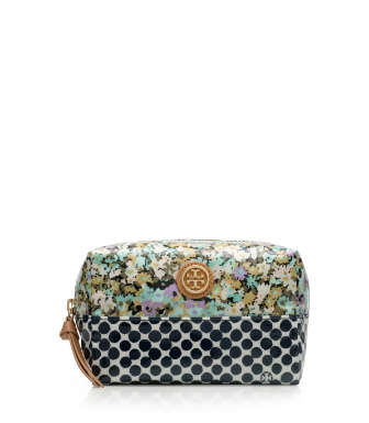 Tory Burch Mix Print Brigitte Cosmetic Case