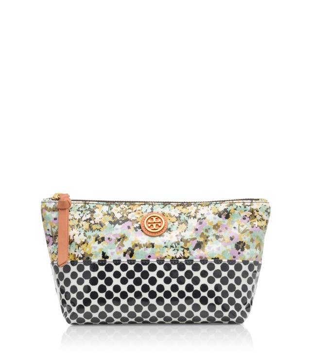 Mix Print Small Slouchy Cosmetic Case